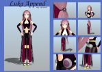 MMD Luka Append full view + details by Ina-C
