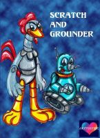 Aosth Scratch and Grounder by jayfoxfire