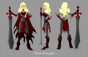 Riot Royale Turnaround by imperiusunforgivable