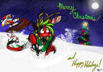 Merrie Chrimbumbus by DeathDragon13