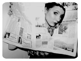 newspaper by estatephotography