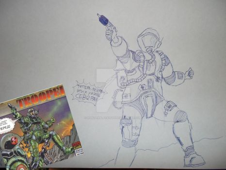 Southern Sergeant (Rogue Trooper Comics) by HUNTeRblackout