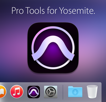 Avid Pro Tools Icon Replacement (OS X Yosemite) by X-X-L