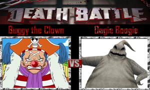 Buggy the Clown vs Oogie Boogie by SonicPal
