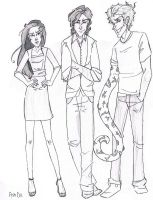 The Coates Kids by iMissSimplicity