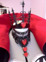 Angelina Durless Crown and Necklace by Lillyxandra