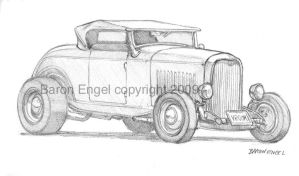 1932 Ford hot rod by Baron-Engel