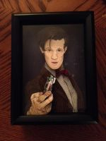 Completed 11th Doctor gift by blackgem93