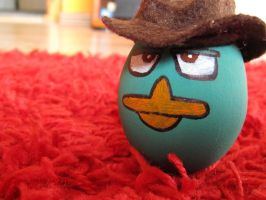 Agent P  (Easter egg) 2 by ArtemisYan