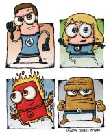 Fantastic Four by stuartmcghee