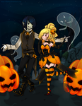 Pumpkin Kings by M-I-Z-Z