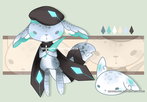 Tourmaline Gem Sprite Adopt Auction: CLOSED by Xeohelios