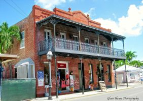 Lovely Old Key West Building by GlassHouse-1