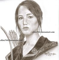 Katniss Everdeen (The Hunger Games) by chloe748