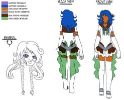 Dwarf Alliance - Sailor Quies Reference Sheet WIP by Wildnature03