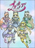 Precure NLA Poster by CandySkitty