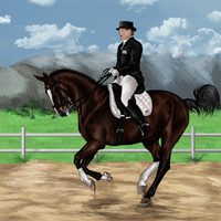 Pride Grand Prix Dressage ENTRY by RvS-RiverineStables