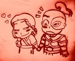 Zutara: Valentine's day part2 by daydreamer-22