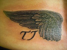 Wings with sons initials 1 by Shipht