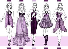 spring collection color by Tania-S