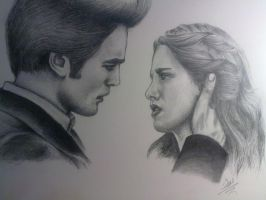edward and bella by naomigokce
