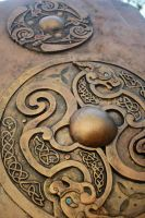 Faelan Dragonstar's Shield (detail) by the-Dragonstar
