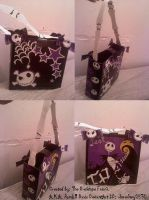 DuckTape Nightmare b4 xmas bag by ohmeohmy0530