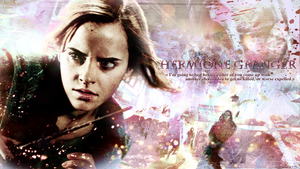 Hermione Granger - Or worse, expelled. by Asahi-chan