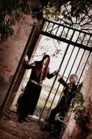 Allen Walker and Marian Cross Cosplay 02 by HellDolly