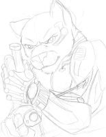Cyborg Cat Guy Thing by dragonsong12