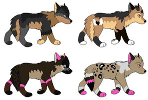 4 pups to *BrookPink by MichelsAdoptions