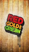 red gold n green by cshee