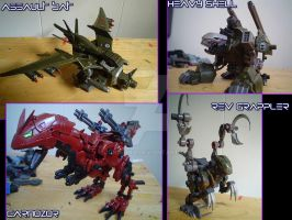 Various zoid 2 by Juno-Uno