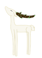 Haroto Spirit of the forest Deer form by FreeFlyingAngel