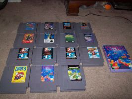 My VG collection part 1: NES by StSubZero