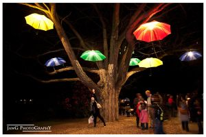 NightFest '10 - Umbrellas by jawg1982