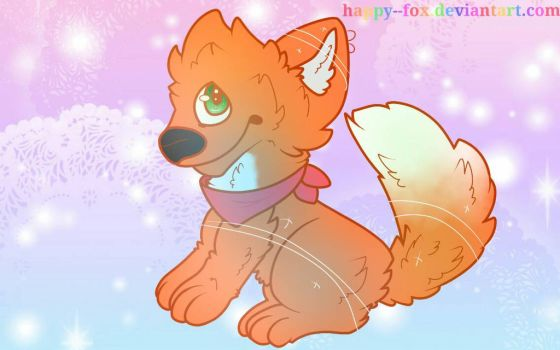 COMMISSION by Happy--Fox