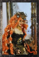 Victorian Steampunk doll bjd ball jointed by SutherlandArt