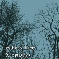 Leafless Tree Brushes by pswonderland2