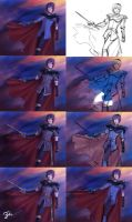 Process for 'The Prince' by SnakeyHoHo