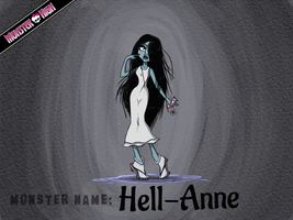 Monster High - Hell-Anne by Cold-Creature