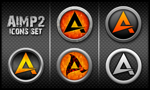 AIMP2 Icons Set by EldiS82