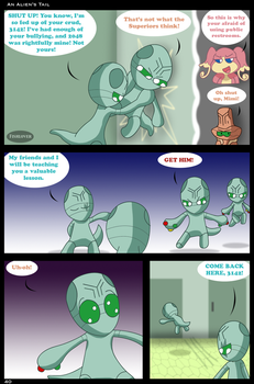 An Alien's Tail: Page 40 by Fishlover