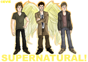 Supernatural! by EVIE128