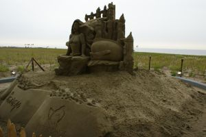 Disney in sand by picture-melanie