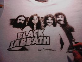 Black Sabbath t-shirt 4 by JULIOART