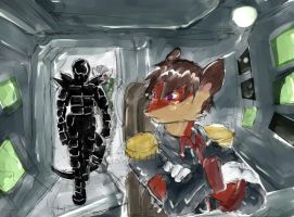 Pilot Seat- Tomu and Crimson by Vamore