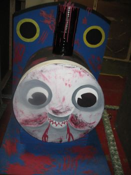 Demented Thomas the Train- Fin by ElectricDucky