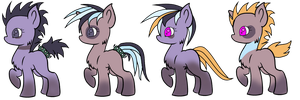 Breeding Results3 (free)(closed) by Zen-Violetbone