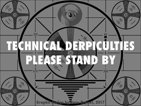 TECHNICAL DERPICULTIES PLEASE STAND BY by Catspaw-DTP-Services
